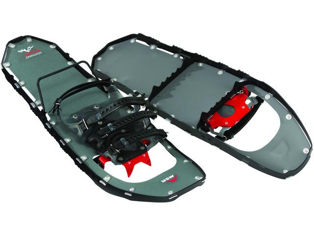 MSR Lightning Ascent 25 - Raquetas de nieve de aluminio Hombre - gris/negro